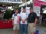3 Generations - Delbert Parsons, Ryan Tighe, and Brett Ragsdale — at Frisco Freedom Fest.