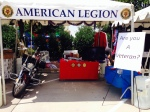American Legion, Peter J Courcy Post 178 Booth at the 2014 Frisco Freedom Fest
