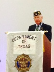 Fred Rogers was formally elected as the new Texas State Vice Commander this morning at the State Convention