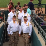 Frisco Roughriders game on military appreciation night