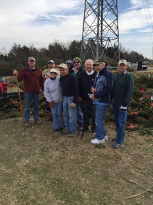 Jan 20 Post 178 volunteers pick up Christmas wreaths from Wreaths Across America Day at DFW National Cemetery