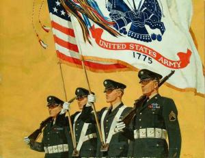 "U.S. Army ""Colors"" by Ken Riley"