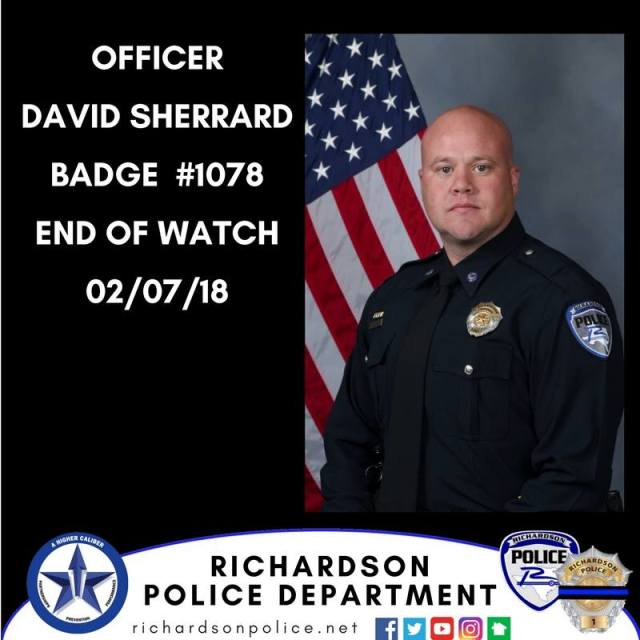 Officer Sherrard End of Watch