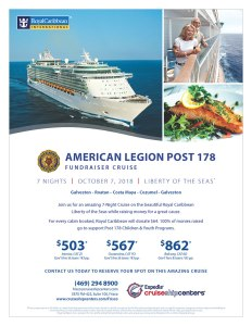 American Legion Fundraiser Cruise 2018