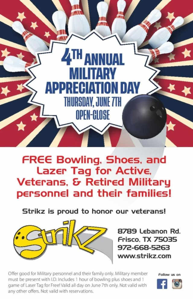4th Annual Military Appreciation
