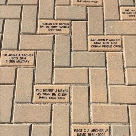 Walk of Honor Bricks
