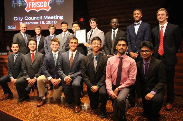 Boys State Frisco Proclamation 2018