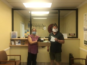 Frisco Family Services Mask Distribution
